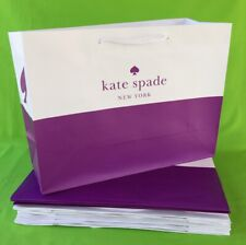 KATE SPADE MEDIUM PAPER SHOPPING GIFT BAGS LOT OF 10