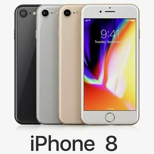 "Apple iPhone 8 4.7"" Display 64GB GSM (Unlocked) Smartphone Used"