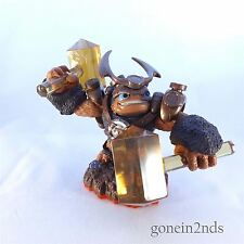 Skylanders Trap Team WALLOP TRAP MASTER (Earth) Comp with Superchargers