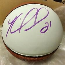 KAREEM RUSH Autographed NBA Spalding Mini Basketball