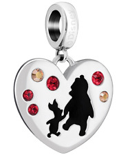 Chamilia Disney Winnie the Pooh Friends Forever Charm/Bead **Genuine and BNIB**