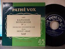 Orch Sinfonietta Vox Dir ERNST GRAF  LISZT Rapsodie hongroise VIP45600 PATHE VOX