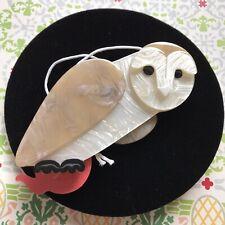 Miah the Masked Owl Brooch Erstwilder
