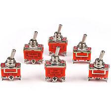 Micro interruptor en OFF Interruptor DPDT momentáneo mantenido 3PDT 15A/250V 10A/380V