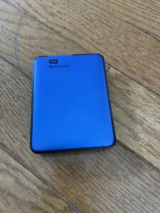 WD My Passport 2TB Portable External USB 3.0 Hard Drive Storage Blue