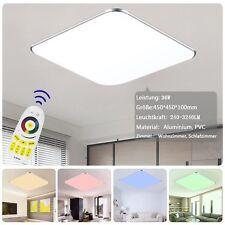 Ultraslim LED Deckenleuchte RGB Dimmbar Farbwechsel Deckenlampe Fernbedienung