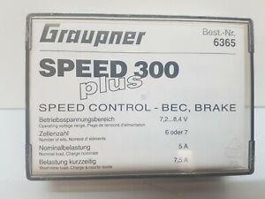 Graupner  6365 SPEED 300 PLUS 7,2 V
