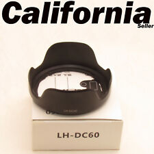 LH-DC60 Lens Hood for Canon PowerShot SX30 IS,SX10, SX20, SX30, SX40, SX50