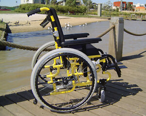 Puffin Paediatric Wheelchair   Lightweight, Foldable   Mobility Aid