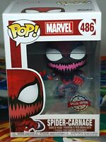 Marvel Spider-Carnage Special Edition #486 Pop Bobble-Head Funko Aus Seller