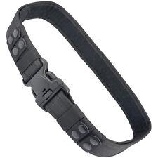 Adjustable Military Tactical Belt Waist Strap Emergency Buckle Black