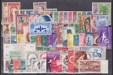 Egypt Sc 153/N85 MLH. 1928-66 issues, mostly cplt. sets