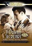 His Private Secretary (DVD 2003) - Black & White John Wayne New Sealed
