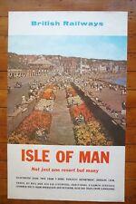 1963 Isle Of Man British Railways Original Railway Train Poster