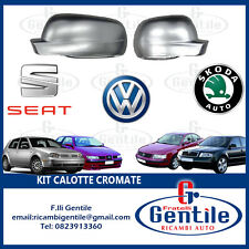 Volkswagen Golf IV 1997 - 2003 Caps Chrome for Mirrors Rear View R+L
