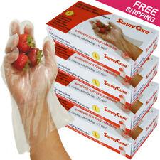 2000pcs Poly HDPE Food Handling Service  Gloves (Latex Vinyl Free) - L