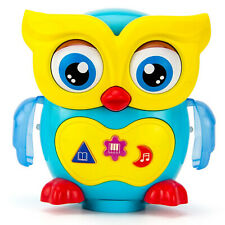 Baby Toys 1 Year Old Toddler Musical Dancing Owl Light Up Singing Educational
