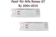 2x TOP LED SMD Kennzeichenbeleuchtung Alfa Romeo GT Bj. 2004-2010 (XL)