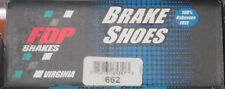 BRAND NEW FDP REAR BRAKE SHOES 662 FITS VEHICLES LISTED ON CHART