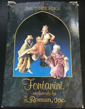 "Fontanini The Three Kings - Heirloom Nativity 5"" Collection 71515"