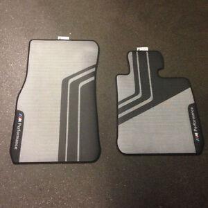 BMW F21 F22 F20 F23 New Genuine RHD M Performance Front Rubber Floor Mats2407300