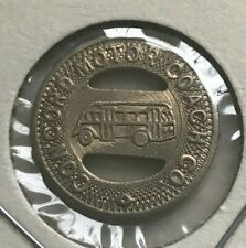 Concord North Carolina NC Concord Motor Coach Co Transportation Token