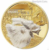 2016 SHADES OF NATURE FIGHTING FISH Silver Proof Coin