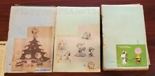 Lot of Peanuts Snoopy Comic Strips Daily Color Sundays 1970's over 3300 comics!!