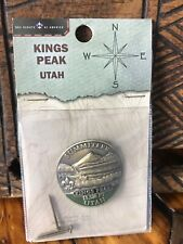 Utah Highpoint Hiking Stick Medallion Badge, Scout