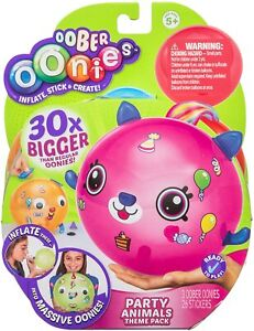 Oonies Oober Theme Pack - Party Animals 19935 NEW FREE SHIPPING