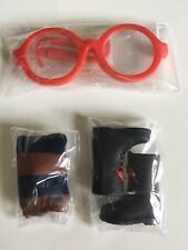 Blythe New  3 pcs x Accessories(  Boots + Legging + Glasses) From Aarsity Dean