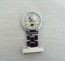 More details for vintage disney fob watch - nurse minnie mouse - lorus quartz