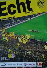 Programm Echt Kompakt 2014/15 Borussia Dortmund - Bayern München
