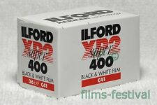5 rolls ILFORD XP2 400 35mm 36exp Black and White Film C41 Process