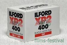 10 rolls ILFORD XP2 400 35mm 36exp B&W Film C41 Process