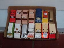 A JOB LOT OF 13 MATCHBOX & OTHER MAKES CARS & VANS  IN USED CON'D VINTAGE C PICS