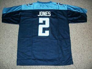 JULIO JONES Unsigned Custom Blue Tennessee Sewn New Football Jersey Sizes S-3XL