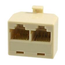 RJ45 2 femmina a maschio Cavo adattatore di rete Plug V8F7