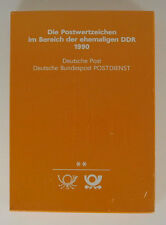 Die Postwertzeichen der DDR, 1990, neu
