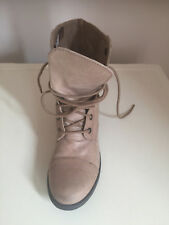 Womens Ankle Leather Boots  Size 5. Redherring
