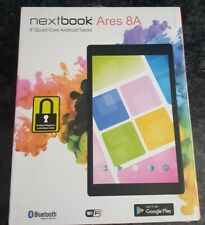 "Nextbook NX16A8116K PR Ares 8A 8"" Touchscreen 16GB Android Tablet Red Activation"
