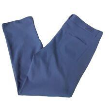 Peter Millar Mens Periwinkle Blue Crown Sport eb66 Golf Pant Size 38x32 (38×30)
