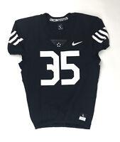 New Nike Vapor Pro Hazard #35 Football Jersey Men's Large Black 908635