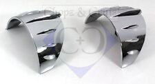 Blinkerschirmchen - Tech-Glide - Kunststoff verchromt - 2 Stück
