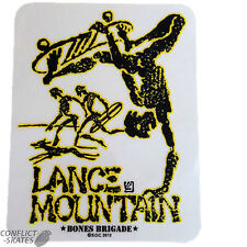 "BONES BRIGADE / POWELL ""Future Primitive"" Lance Mountain Skateboard Sticker YELL"