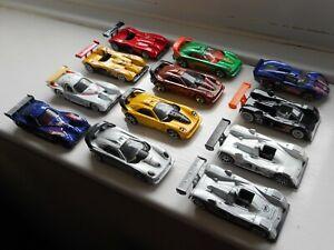 Hot Wheels job lot x12 toy racing cars, US supercars, Cadillac, Panoz, Callaway