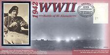 1942-2002 BENHAM SECONDA GUERRA MONDIALE 60th ANNIVERSARIO COVER-BATTAGLIA DI EL ALAMEIN