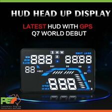 "New Q7 5.5"" Head Up Display GPS Windscreen Speedometer Projector For Audi A1 A2"