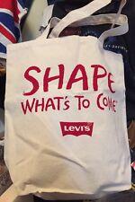 "LEVIS Designs Canvas Shoulder Bag Purse Bag. Made In USA. 16"" X 16"" Inc Rare."