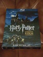 Harry Potter Complete 8-Film Collection (Used, Blu-ray) 8-Disc Blu-ray Set
